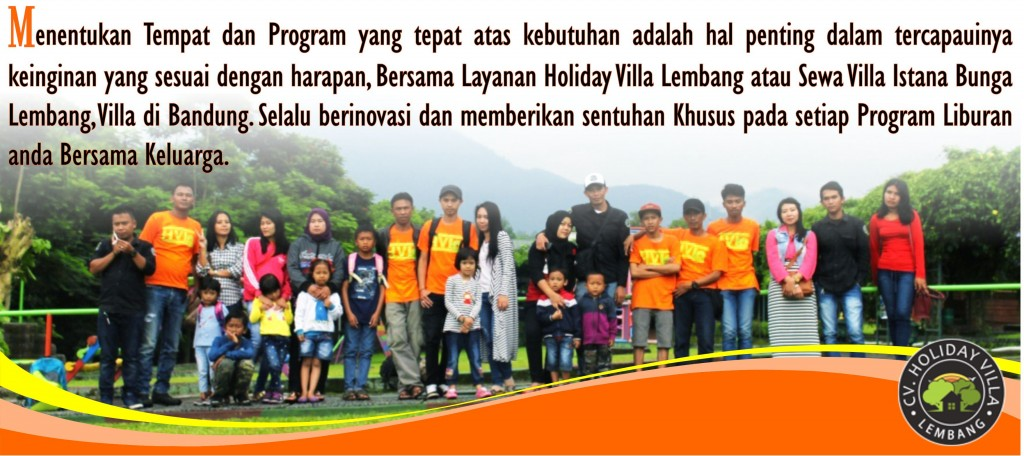 CV HOLIDAY VILLA LEMBANG MANAGEMENT