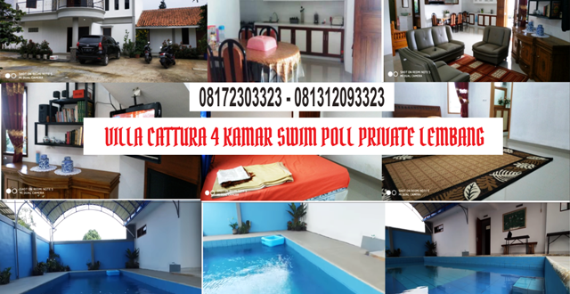 Villa Cattura Lembang 640x330 - UPDATE TERBARU VILLA CATTURA LEMBANG SWIMPOOL PRIVATE
