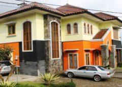 Villa Kampung daun Lembang dan Villa Istana Bunga