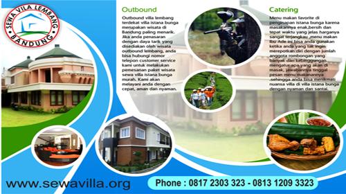Villa Lembang untuk Tahun baru 2019