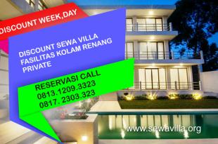 Promo Weekday Villa Besar Kolam Renang Pribadi